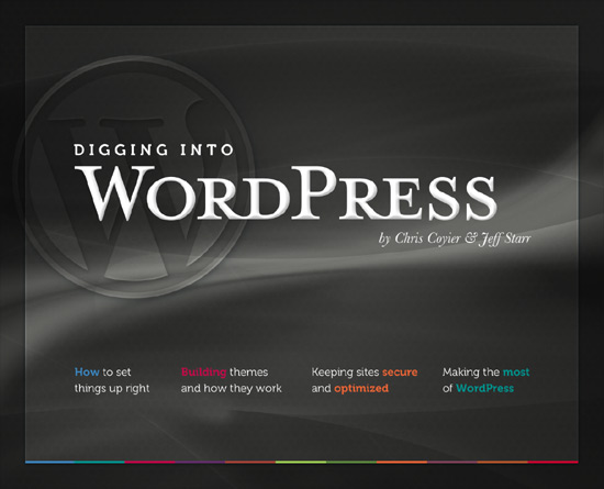 Digging Into WordPress, Cover