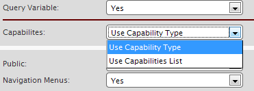 Setting Capabilities for Post Type